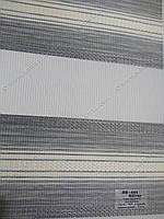 Рулонные шторы День-Ночь ВН-602 серый