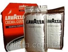 Кофе молотый Lavazza Crema E Gusto Gusto Forte 250 gr (Италия внутр. рынок серебрист. упаковка)