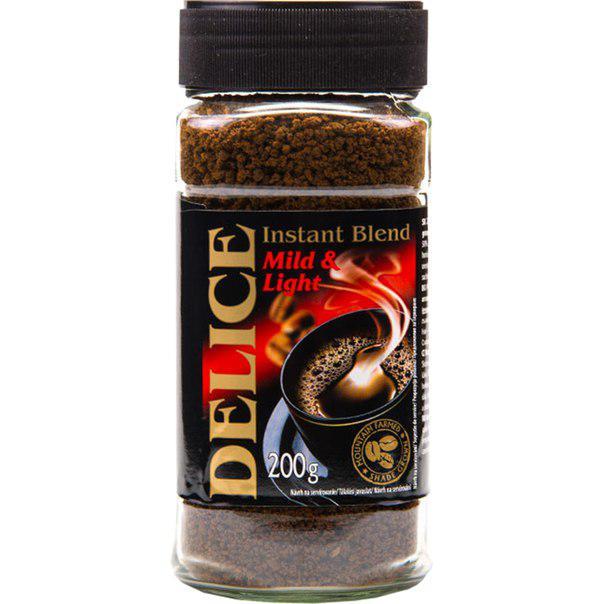 Кава розчинна Delice Instant 200 гр.