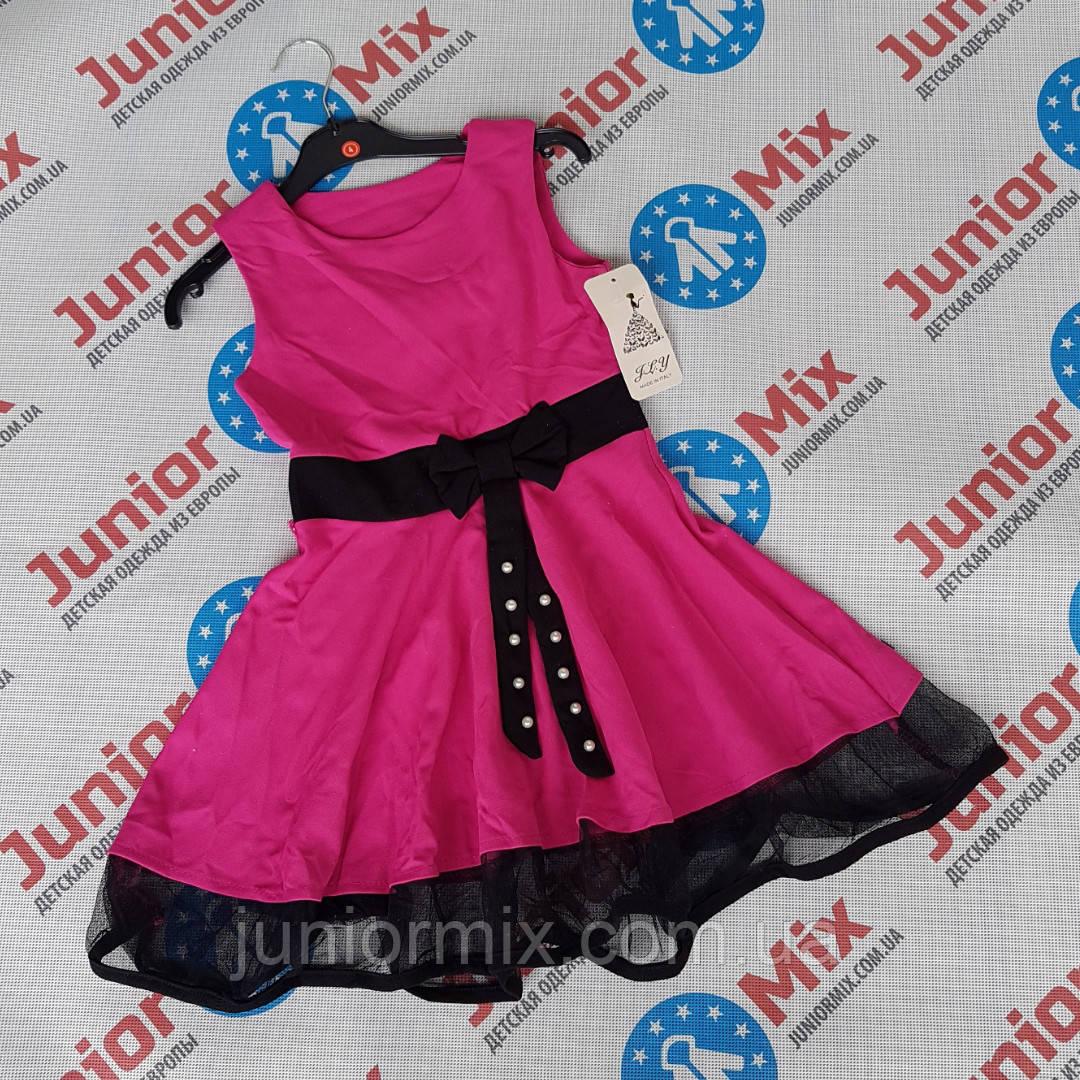 Детские нарядные цветные платья для девочек оптом MODA