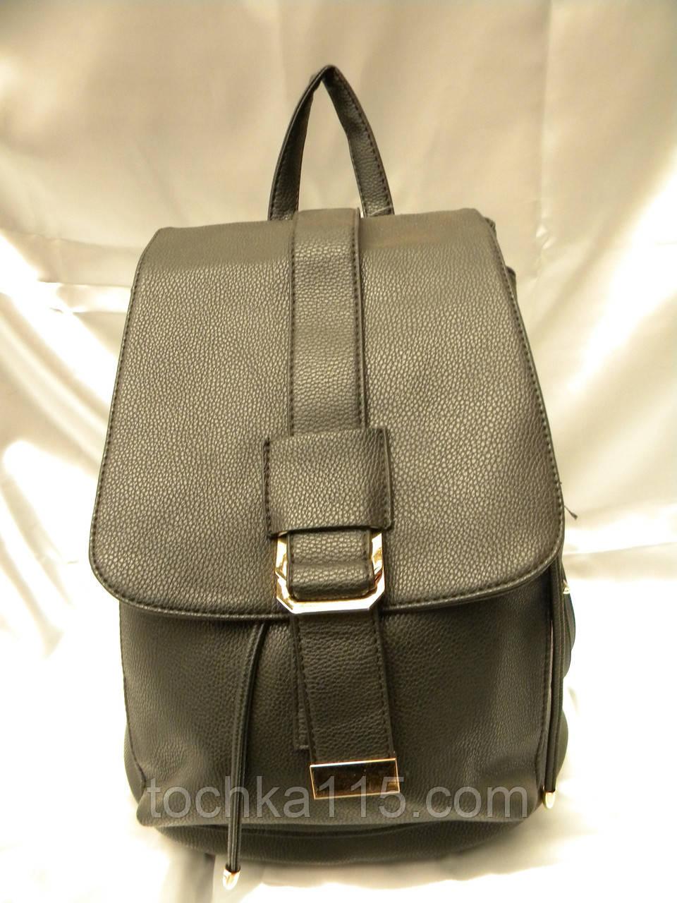 c535131a02dd Стильный женский рюкзак, черный кожаный рюкзак, рюкзак для девочки, ...