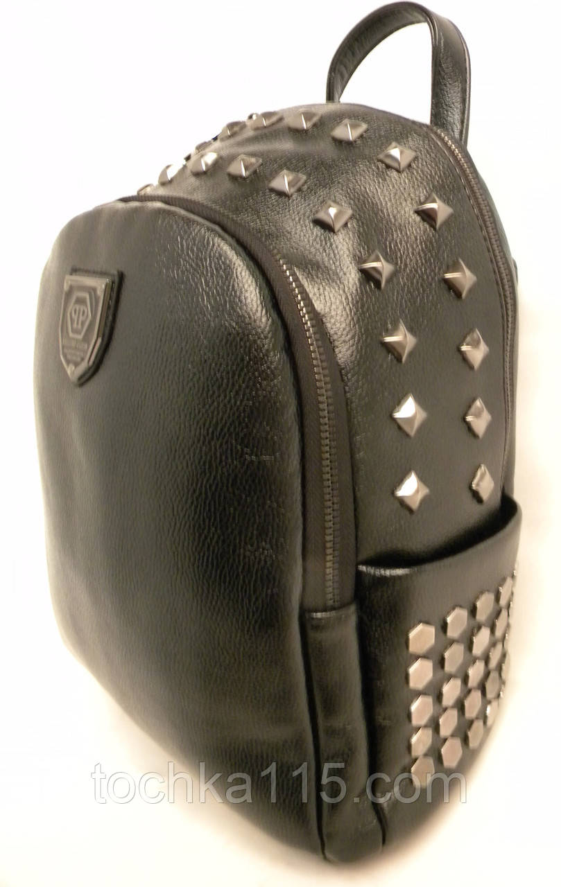 Стильный кожаный женский рюкзак Philipp Plane, рюкзак для девочки, городской рюкзак реплика