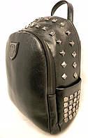 Стильный кожаный женский рюкзак Philipp Plane, рюкзак для девочки, городской рюкзак реплика, фото 1