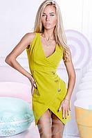 Откровенное платье-жилетка