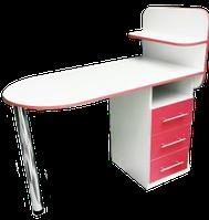 """Маникюрный стол """"Овал"""""""