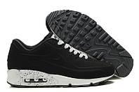 Кроссовки Nike Air Max 90 VT Tweed Черные с белой подошвой