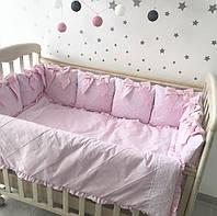 """Комплект в детскую кроватку - подушки """"Сны принцессы"""""""