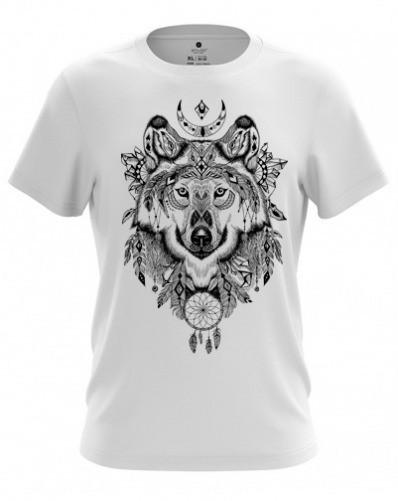 "Мужская футболка ""Волк"" (MF-W-1)"