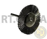 Щётка дисковая металлическая 22 мм, ножка 2,35 мм YDS ЩДМ-22-235