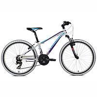 "Подростковый велосипед Cronus Best Mate 24"" Girl White-Blue"