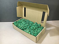 Стабилизированный мох в коробке (Pacific Green)