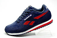 Кроссовки унисекс Reebok Classic Runner Jacquard, Dark Blue\Red