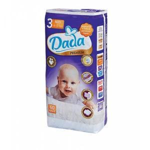 Подгузники детские DADA 3 (4-9кг, 60шт)