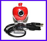 Веб-камера Sertec PC-122, красный