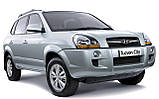 Защита двигателя на Хьюндай Туксон(Hyundai Tucson) 2003-2010, фото 2