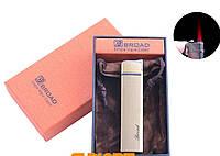 Зажигалка в подарочной упаковке BROAD (Турбо пламя) №4471 Gold