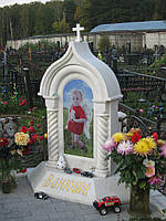 Памятник из мрамора № 2099
