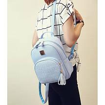 Рюкзак женский Chris голубой eps-8013, фото 2