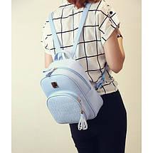 Рюкзак женский Chris голубой, фото 3
