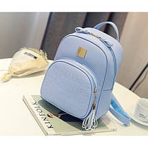 Рюкзак женский Chris голубой, фото 2