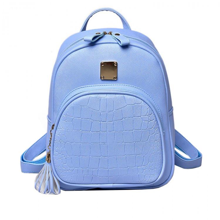 Рюкзак женский Chris голубой