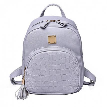Рюкзак женский Chris 10, серый, фото 2