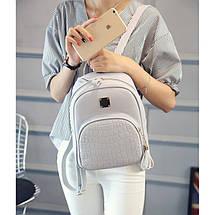 Рюкзак женский Chris 10, серый, фото 3