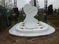 Памятник из мрамора № 2109