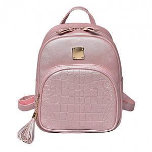 Женский городской/классический рюкзак Chris розовый eps-8011