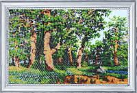 Набор для вышивки бисером Дубовая роща (по картине И. Шишкина) №330