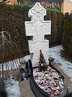 Памятник из мрамора № 2117