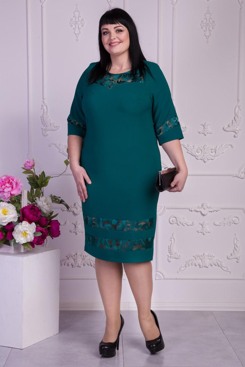 32a3ab25464 Женское платье больших размеров Рената от 54 до 58 оптом и в розницу ...