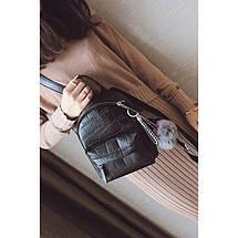 Рюкзак женский Chris Mini черный eps-8084, фото 2