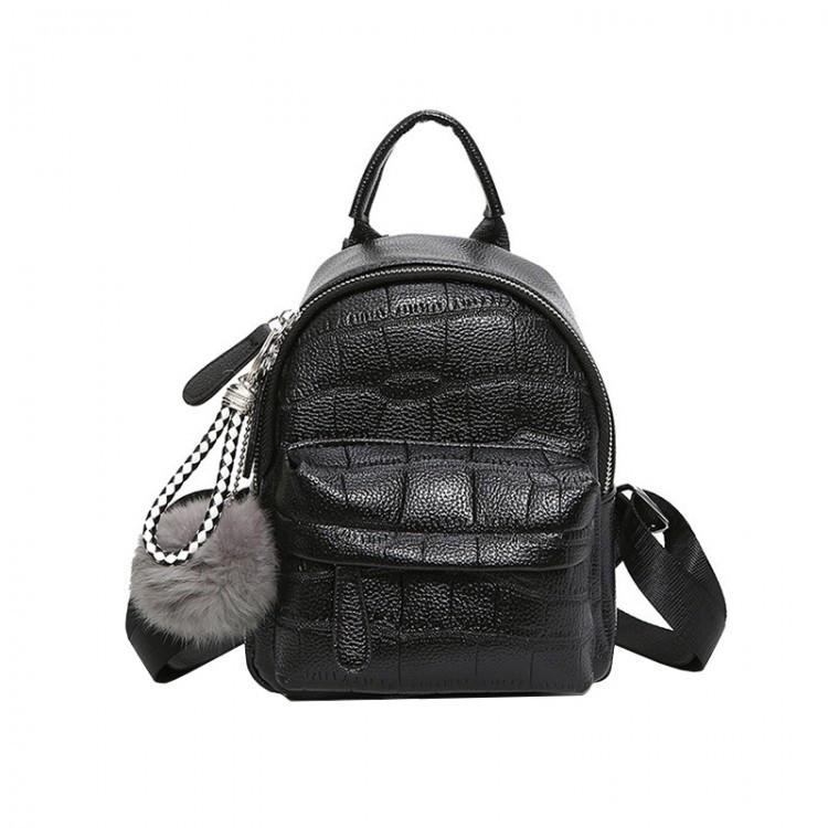 Рюкзак женский Chris Mini черный eps-8084