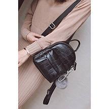 Рюкзак женский Chris Mini черный eps-8084, фото 3