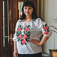 "Женская блузка - вышиванка ""Роза"""