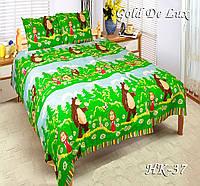 Полуторное постельное белье Тет-А-Тет НК-37(эконом)