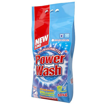 Стиральный порошок Power Wash 10кг Универсальный, фото 2