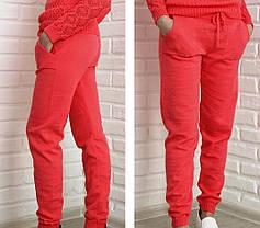 Женские вязанные, трикотажные, брюки, штаны от 44 до 52 р-ра, фото 3