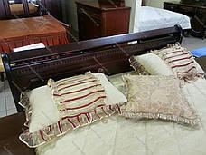 Спальня деревянная в классическом стиле Флора,  Evrodim орех, темный орех, фото 3
