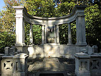 Памятник из мрамора № 2124