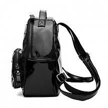 Рюкзак женский Crystal черный eps-8095, фото 2