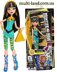 Кукла Монстр Хай Клео де Нил Первый день в школе Monster High Signature Look Core Cleo De Nile Doll