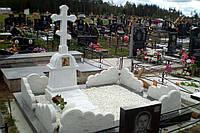 Памятник из мрамора № 2135