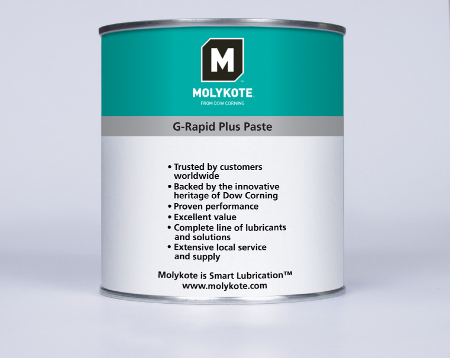 Смазочная паста с особенно низким коэффициентом трения Molykote G-Rapid Plus