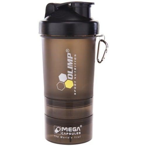шейкер Olimp Smart Shaker Black Label 3in1 400 Ml Black продажа цена в тернополе шейкеры для спортивного питания от интернет магазин Sport