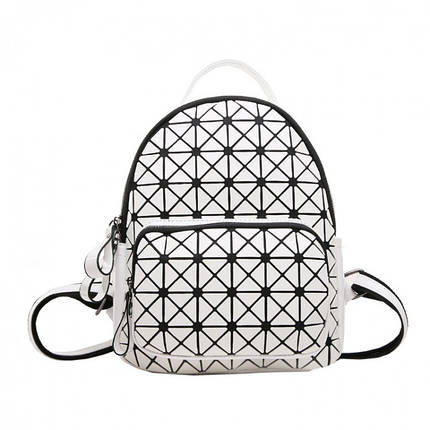 Рюкзак женский Crystal белый eps-8093, фото 2