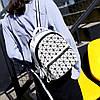 Рюкзак женский Crystal белый eps-8093, фото 5