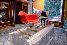 Кресло качалка пластиковое с буковыми полозьями Тауэр R, Реплика на кресло-качалку Eames RAR Style, , фото 2