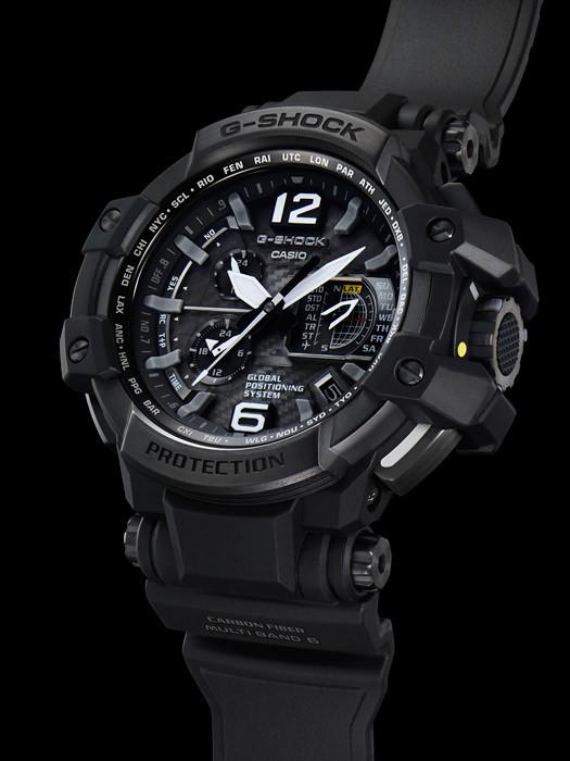Часы Casio G-Shock GPW1000T-1А SKY COCKPIT В.